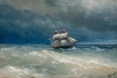 Stormy Sea by Ivan Konstantinovich Aivazovsky