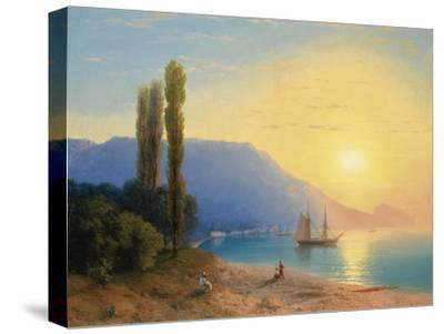 Sunset over Yalta