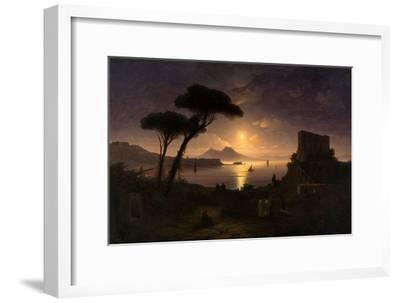 The Bay of Naples at Moonlit Night, 1842
