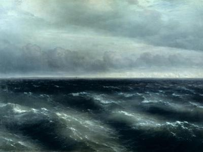 The Black Sea, 1881 by Ivan Konstantinovich Aivazovsky