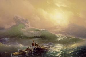 The Ninth Wave, 1850 by Ivan Konstantinovich Aivazovsky