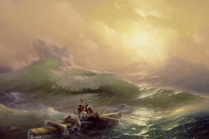 The Ninth Wave, 1850 by Ivan Konstantinovich Aivazovsky