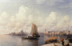Venice, 1882 by Ivan Konstantinovich Aivazovsky