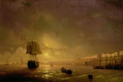 View of Odessa by Moonlight, 1846 by Ivan Konstantinovich Aivazovsky