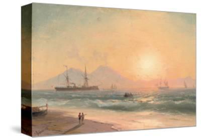 Watching Ships at Sunset