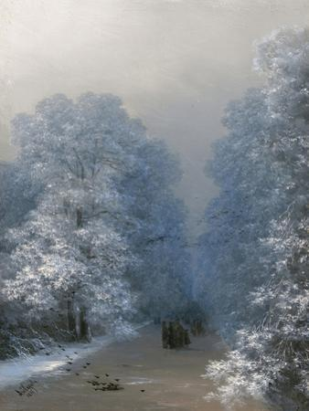 Winter Landscape, 1876 by Ivan Konstantinovich Aivazovsky