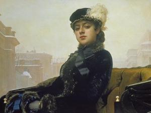 The Unknown Person, 1883 by Ivan Nikolaevich Kramskoi