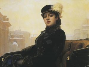 Unknown Russian Woman by Ivan Nikolaevich Kramskoi