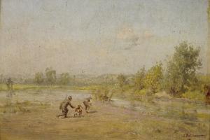 The Hunters by Ivan Pavlovich Pokhitonov