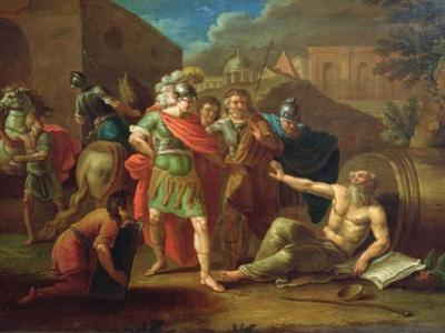 Alexander the Great Visits Diogenes at Corinth, 1787