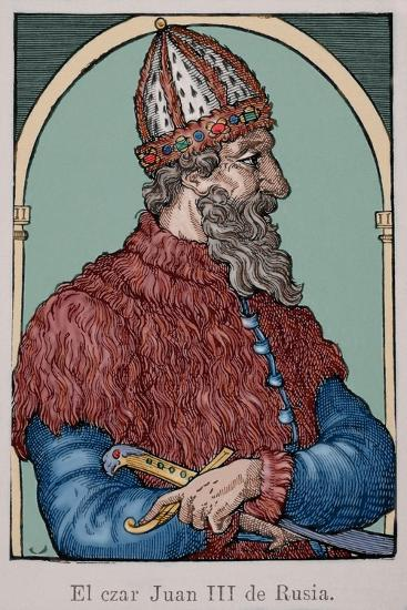 Ivan the Great (1440-1505)--Giclee Print