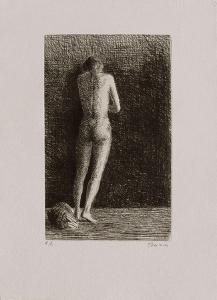 Femme nue debout by Ivan Theimer