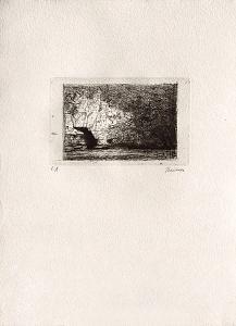 Rocher en surplomb by Ivan Theimer