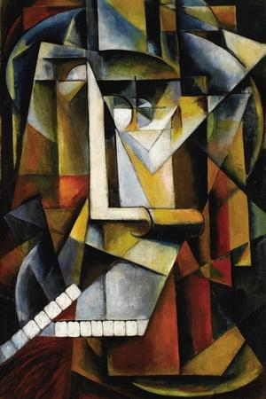 Abstract Cubist Composition