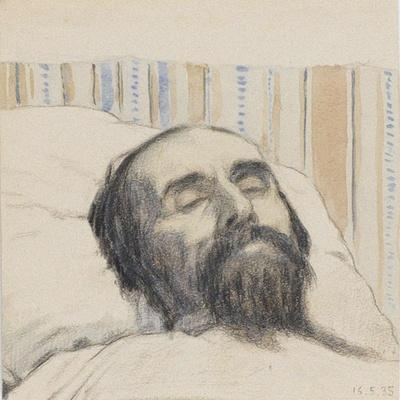 Malevich on His Deathbed