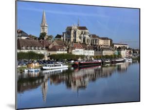 Abbey of Saint-Germain, Auxerre, Yonne Department, Burgundy, France by Ivan Vdovin
