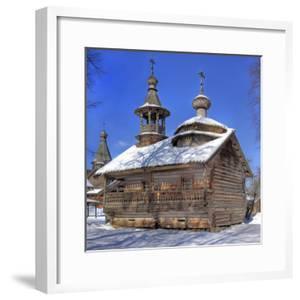 Chapel from Kashira, Museum of Wooden Architecture Vitoslavlicy, Veliky Novgorod, Novgorod Region,  by Ivan Vdovin