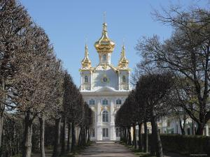 Church of the Palace, Peterhof, Near St. Petersburg, Russia by Ivan Vdovin