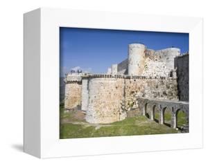 Crusader Castle Krak Des Chevaliers, Syria by Ivan Vdovin