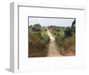 Dirt Road, Uganda, Africa by Ivan Vdovin