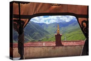 Ganden Monastery, Wangbur Mountain, Lhasa, Tibet, China by Ivan Vdovin
