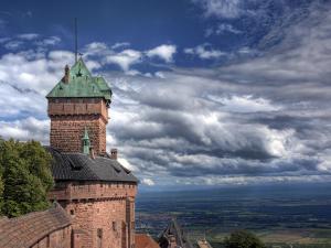 Haut-Koenigsbourg Castle, Orschwiller, Alsace, France by Ivan Vdovin