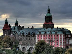 Ksiaz (Schloss Furstenstein) Castle, Silesia, Poland by Ivan Vdovin