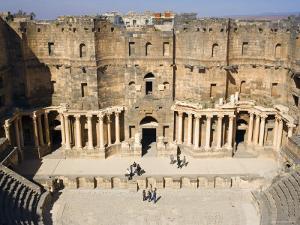 Roman Theatre, Bosra, Syria by Ivan Vdovin
