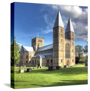 Southwell Minster (12th Century), Southwell, Nottinghamshire, England, UK by Ivan Vdovin