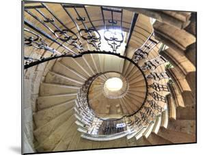 Spiral Staircase, Seaton Delaval Hall, Northumberland, England, UK by Ivan Vdovin