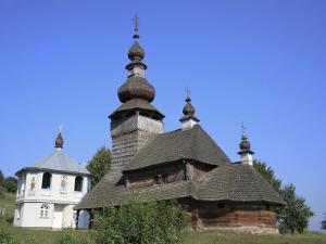 St. Nicholas Wooden Church, Svaliava, Zakarpattia Oblast, Transcarpathia, Ukraine by Ivan Vdovin
