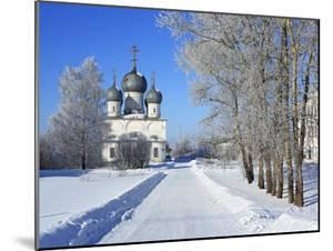 St; Transfiguration Cathedral (1670), Belozersk, Vologda Region, Russia by Ivan Vdovin