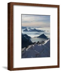 View from the Mount Santis, Appenzell Innerrhoden, Switzerland by Ivan Vdovin