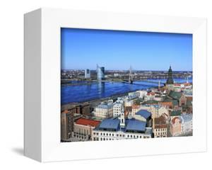 View of City from St; Peter's Church, Riga, Latvia by Ivan Vdovin