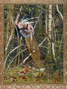 Baba Yaga, 1900 by Ivan Yakovlevich Bilibin