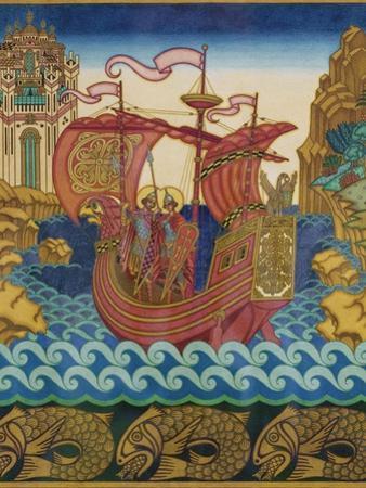 The Ship by Ivan Yakovlevich Bilibin