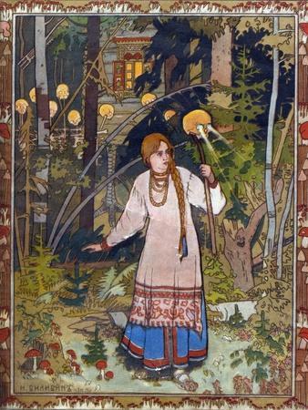 Vasilisa the Beautiful, 1900