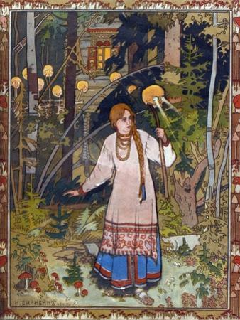 Vasilisa the Beautiful, 1900 by Ivan Yakovlevich Bilibin