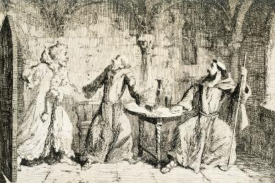 Ivanhoe, Historical Novel by Sir Walter Scott--Giclee Print