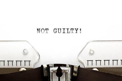 Typewriter Not Guilty