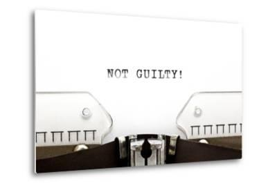 Typewriter Not Guilty
