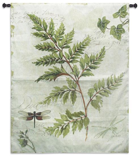 Ivies and Ferns I-Lisa Audit-Wall Tapestry