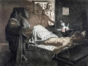 Radiologist, C1930 by Ivo Saliger