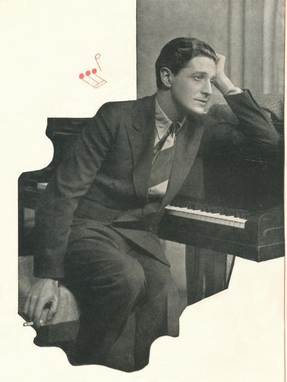 Ivor Novello confesses: It Takes Me A Long Time To Compose A Score-Unknown-Photographic Print