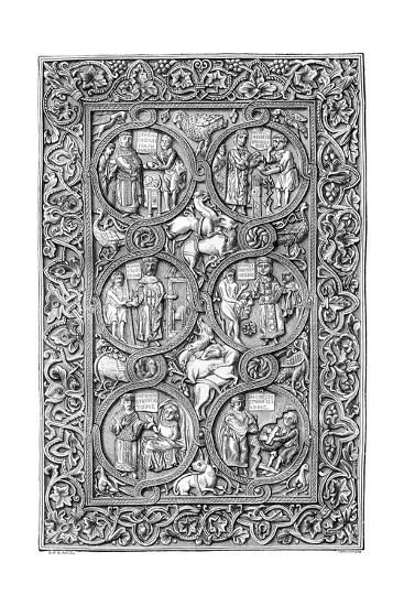 Ivory Cover of a Book of Hours, 11th Century (1882-188)- Tamisier-Giclee Print