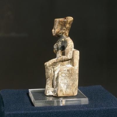 Ivory Figurine of Khufu from Abydos--Giclee Print