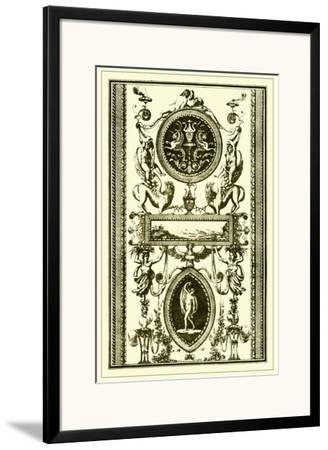 Ivory Screen II--Framed Art Print