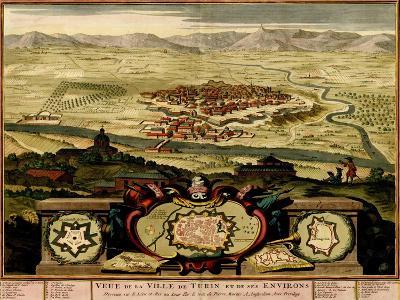 Ivrea Near Turin - 1700-Anna Beeck-Art Print