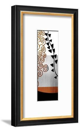 Ivy and Swirls after Klimt-Michael Timmons-Framed Art Print