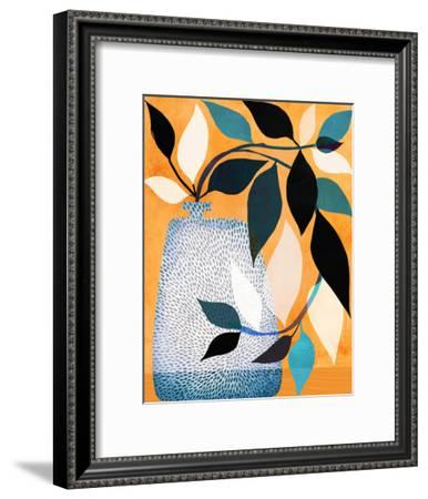 Ivy In The Courtyard-Modern Tropical-Framed Art Print